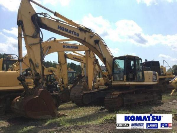 Detail photo of 2008 Komatsu PC300HD-8 from Construction Equipment Guide