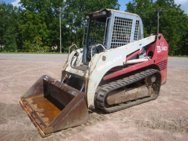 Detail photo of 2003 Takeuchi TL140 from Construction Equipment Guide