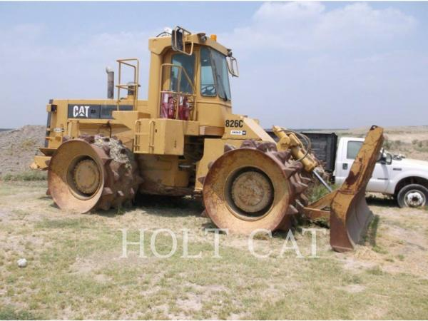 Detail photo of 1988 Caterpillar 826C from Construction Equipment Guide
