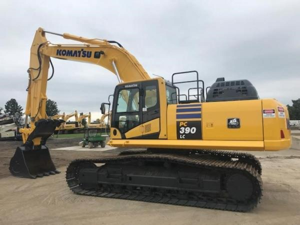 Detail photo of 2016 Komatsu PC390LC-11 from Construction Equipment Guide