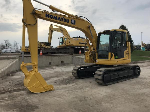 Detail photo of 2014 Komatsu PC128US-10 from Construction Equipment Guide