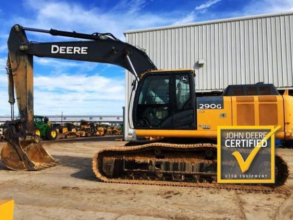 Detail photo of 2015 John Deere 290G LC from Construction Equipment Guide