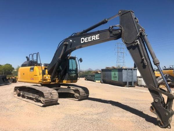 Detail photo of 2019 John Deere 210G LC from Construction Equipment Guide