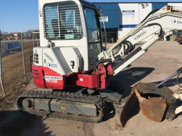 Detail photo of 2014 Takeuchi TB138FR from Construction Equipment Guide