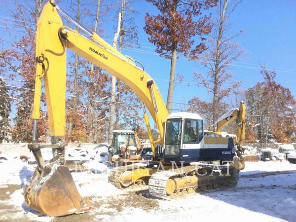 Detail photo of 1992 Komatsu PC300LC-5 from Construction Equipment Guide