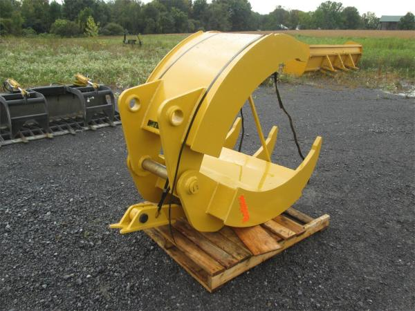 Detail photo of  Bodine ADJUSTABLE 1/2 STATIONARY GRAPPLE from Construction Equipment Guide