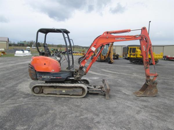 Detail photo of  Kubota KX91-3 from Construction Equipment Guide