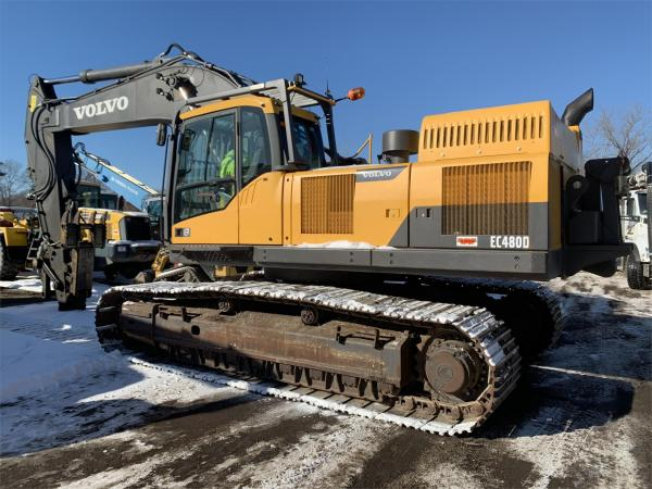 Detail photo of 2012 Volvo EC480DL from Construction Equipment Guide