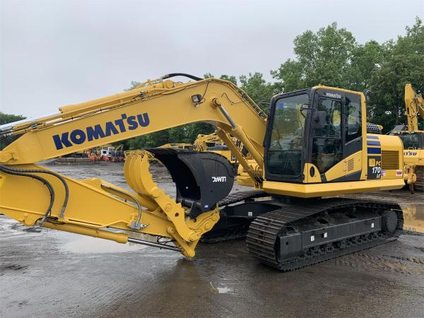 Detail photo of 2016 Komatsu PC170LC-10 from Construction Equipment Guide