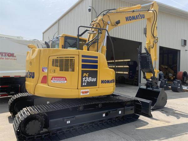 Detail photo of 2016 Komatsu PC138USLC-10 from Construction Equipment Guide