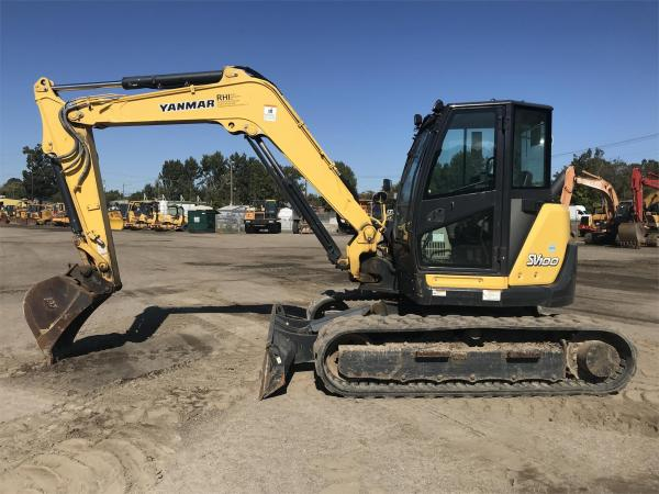 Detail photo of 2014 Yanmar SV100-2A from Construction Equipment Guide