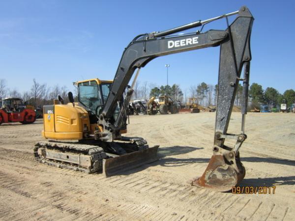 Detail photo of 2014 John Deere 85G from Construction Equipment Guide