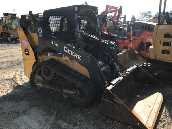 Detail photo of 2018 John Deere 317G from Construction Equipment Guide