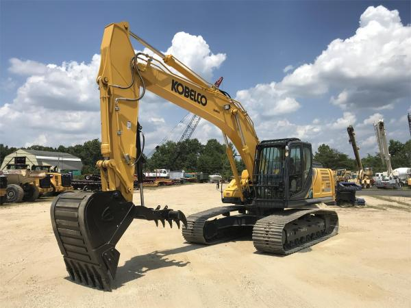 Detail photo of 2019 Kobelco SK210 LC from Construction Equipment Guide