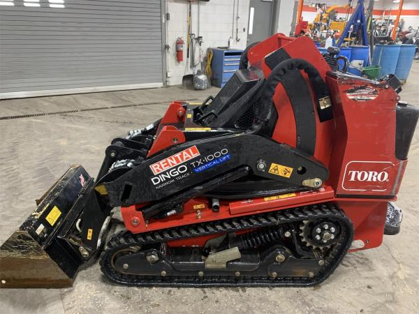 Detail photo of 2018 Toro DINGO TX 1000N from Construction Equipment Guide