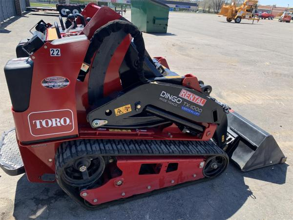 Detail photo of 2020 Toro DINGO TX 1000W from Construction Equipment Guide