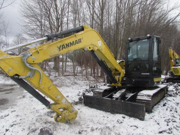Detail photo of 2018 Yanmar VIO80-1A from Construction Equipment Guide