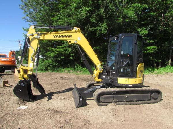 Detail photo of 2018 Yanmar VIO50-6 from Construction Equipment Guide
