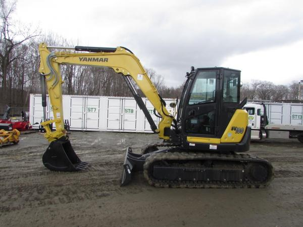Detail photo of 2020 Yanmar SV100-2A from Construction Equipment Guide