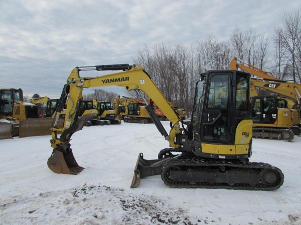 Detail photo of 2018 Yanmar VIO45-6A from Construction Equipment Guide
