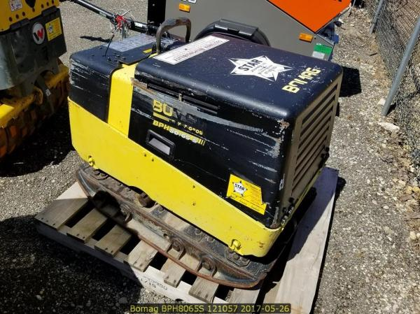 Detail photo of 2008 Bomag BPR 80/65 S from Construction Equipment Guide