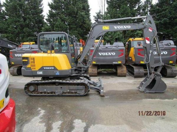 Detail photo of 2017 Volvo EC60E from Construction Equipment Guide