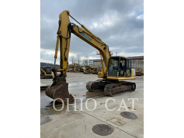Detail photo of 2004 Komatsu PC160-7 from Construction Equipment Guide