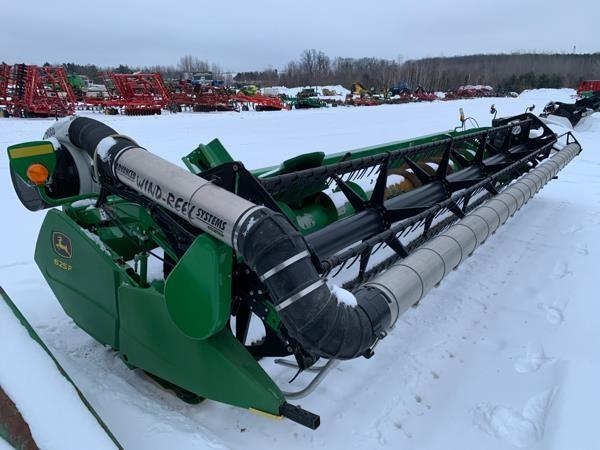 Detail photo of  John Deere 625F from Construction Equipment Guide