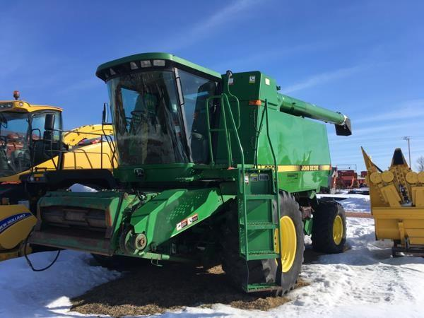 Detail photo of 1990 John Deere 9600 from Construction Equipment Guide