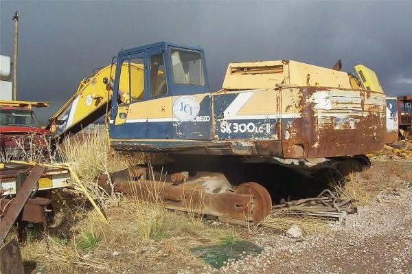 Detail photo of  Kobelco SK300 LC II from Construction Equipment Guide