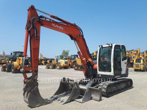 Detail photo of 2013 Kubota KX80-3 from Construction Equipment Guide