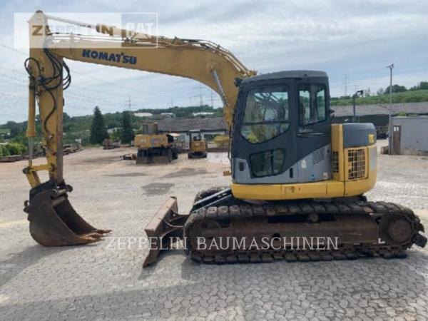 Detail photo of 2006 Komatsu PC138US from Construction Equipment Guide