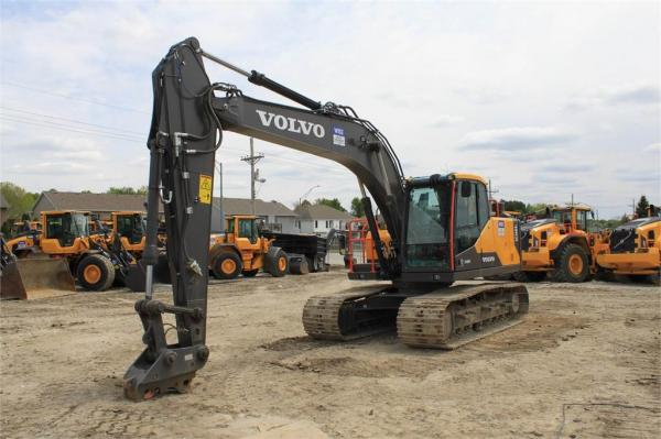 Detail photo of 2019 Volvo EC160EL from Construction Equipment Guide
