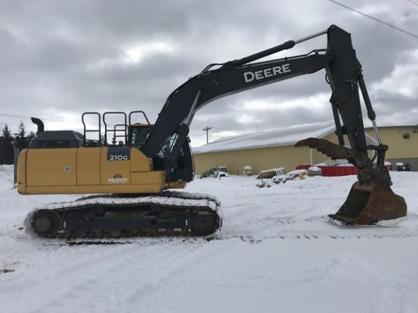 Detail photo of 2018 John Deere 210G LC from Construction Equipment Guide