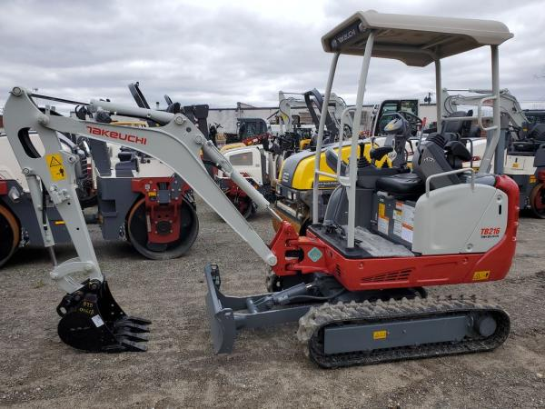Detail photo of 2020 Takeuchi TB216 from Construction Equipment Guide