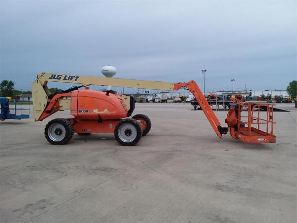 Detail photo of 2007 JLG 600AJ from Construction Equipment Guide